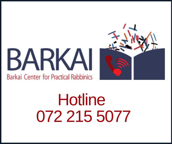 Barkai Rabbis Help During Coronavirus Crisis in Israel